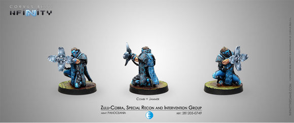 Infinity: PanOceana: Zulu-Cobra, Special Recon & Intervention Team (Jammer)