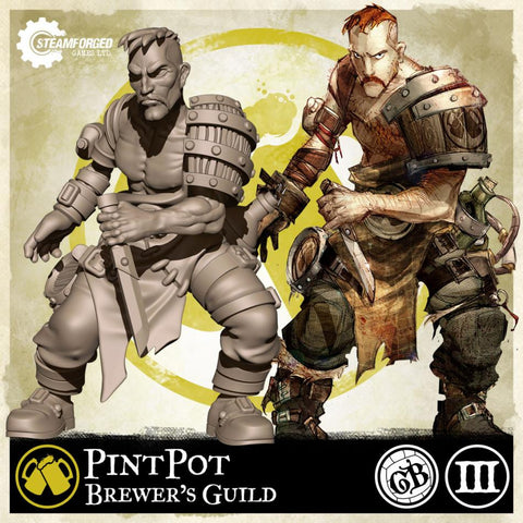 Guild Ball: Brewer's Guild - Pintpot (Season 3)