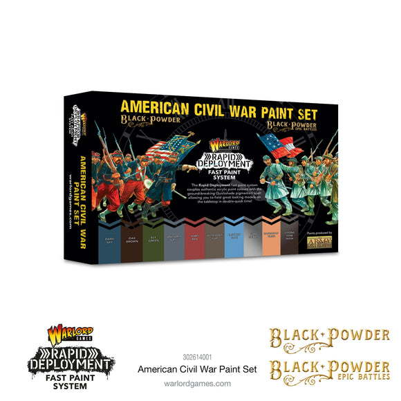 Black Powder: American Civil War paint set