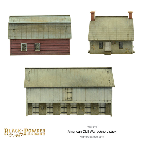 Epic Battles: ACW American Civil War Scenery Pack