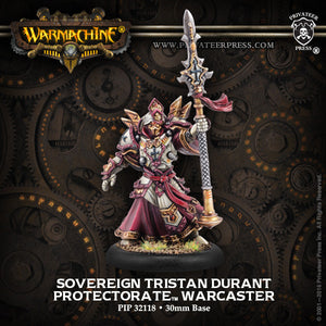 Warmachine Protectorate: Sovereign Tristan Durant