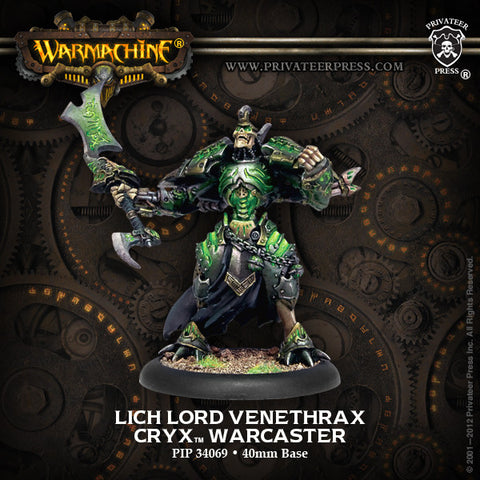 Warmachine Cryx: Lich Lord Venethrax