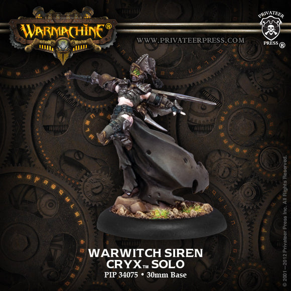 Warmachine Cryx: Warwitch Siren Solo