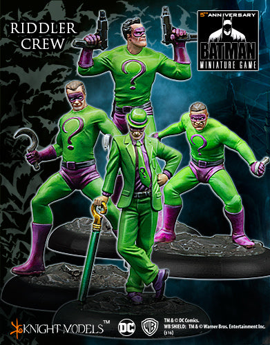 Batman Miniatures Game: Riddler Crew
