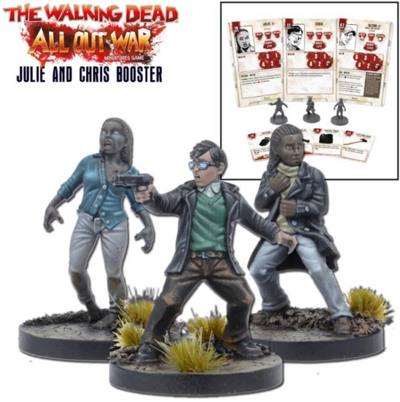 The Walking Dead: Miniatures Booster Julie & Chris (TWD)