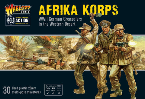 Bolt Action: Afrika Korps Infantry