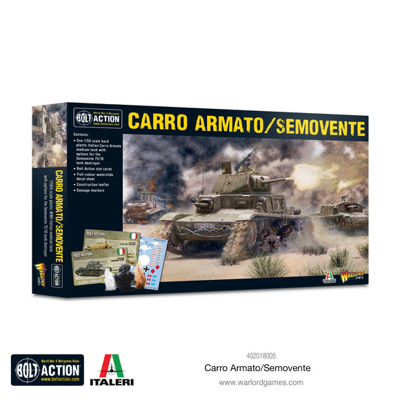 Bolt Action: Carro Armato/Semovente