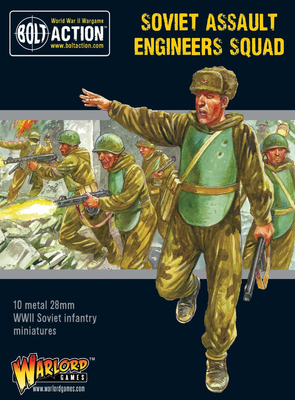 Bolt Action: Soviet Assault Engineers squad