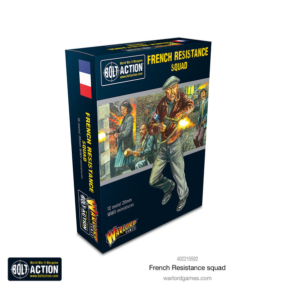 Bolt Action: French Resistance Squad