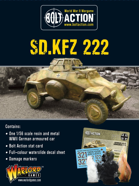 Bolt Action: Sd.Kfz 222 Armoured Car