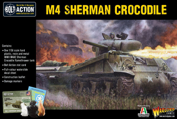 Bolt Action: M4 Sherman Crocodile