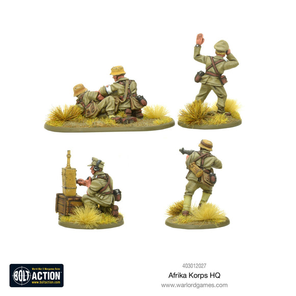 Bolt Action: Afrika Korps HQ