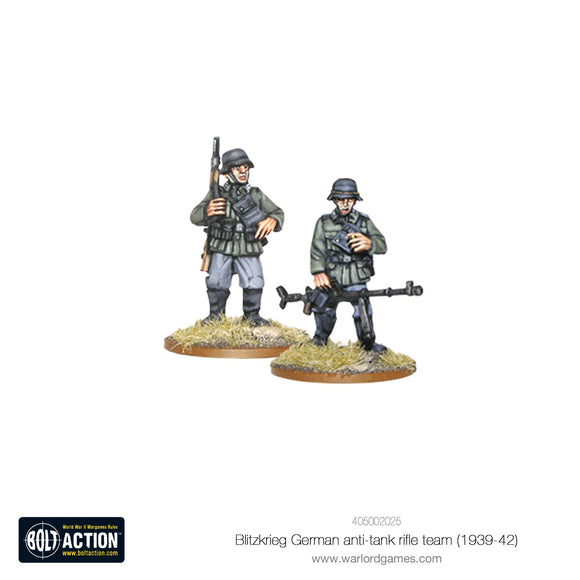 Bolt Action: Blitzkrieg German anti-tank rifle team (1939-42)
