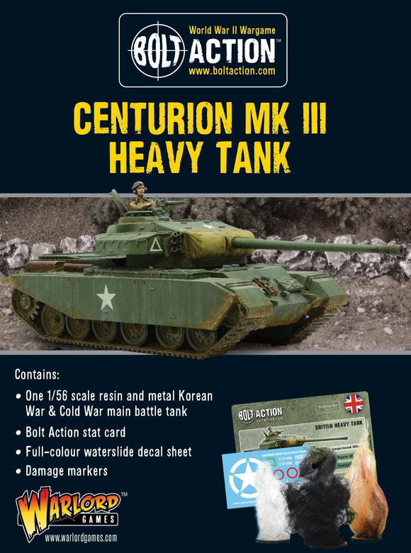 Bolt Action: Centurion Mk III