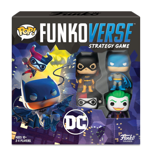 Pop! Funkoverse DC Comics - 100 - Base Set