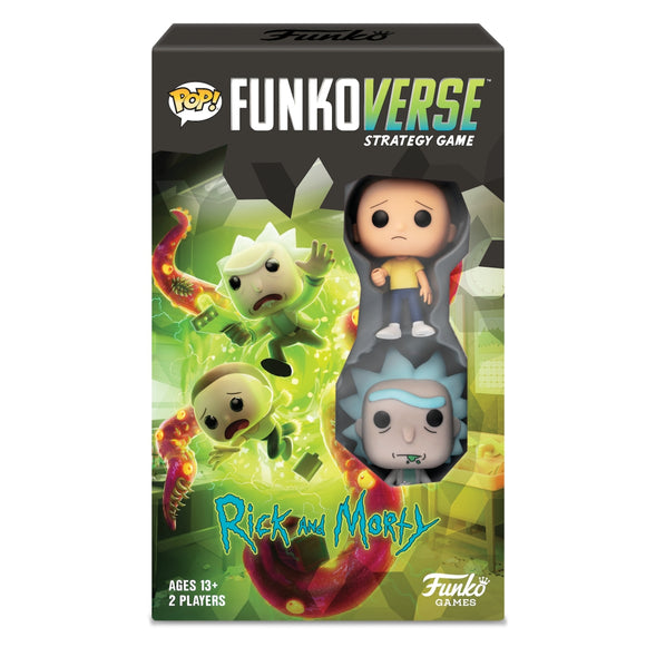 Pop! Funkoverse Rick and Morty - 100 - Expandalone