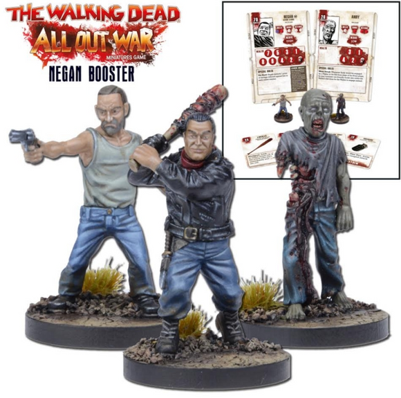 The Walking Dead: Miniatures Booster Negan (TWD)
