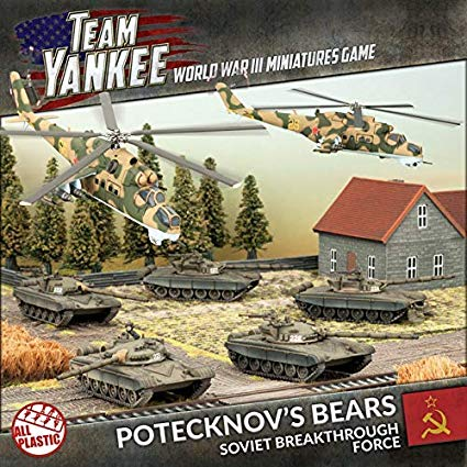 Team Yankee: Potecknov's Bears (Plastic Army Deal) - 2017