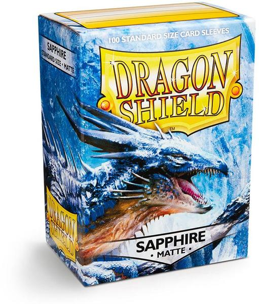 Dragon Shield Card Sleeves: Matte Sapphire (100)
