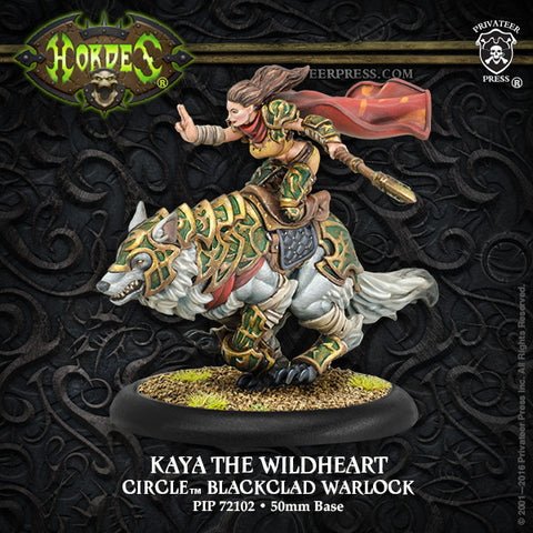Warmachine Circle Orboros: Kaya the Wildheart