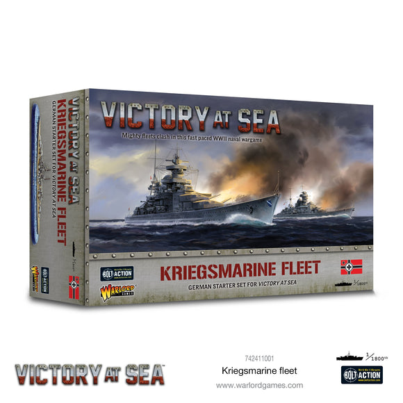 Battle for the Pacific - Victory at Sea Kriegsmarine fleet