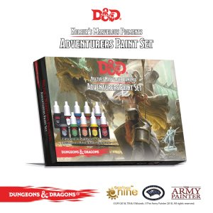 D&D: Nolzur's Marvelous Pigments - Adventurers Paint Set