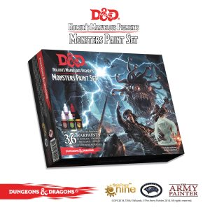 D&D: Nolzur's Marvelous Pigments - Monsters Paint Set