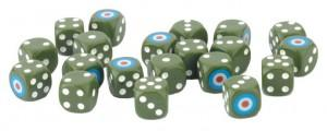 FoW: British LW Dice (x20)