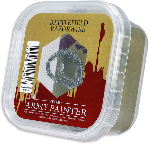 Army Painter Battlefields Basing - Battlefield Razorwire