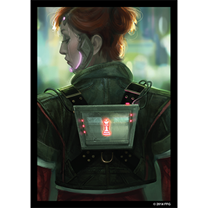 Android: Netrunner Art Sleeves: Deep Red