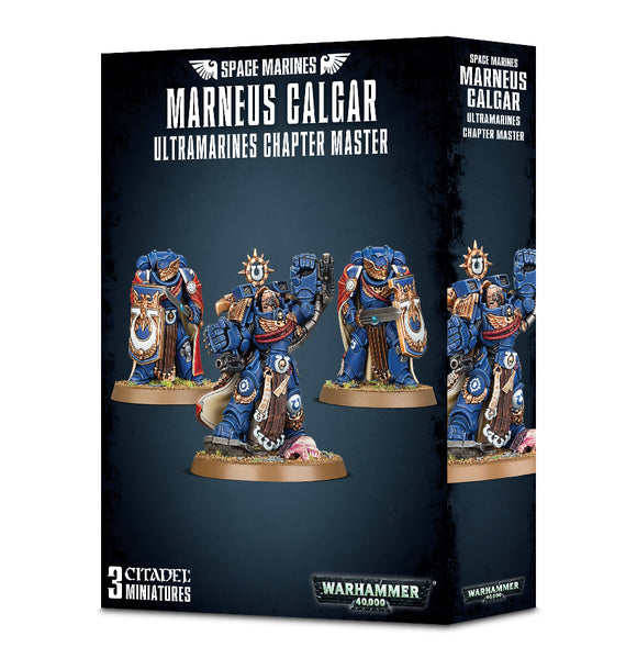 Warhammer 40K: Space Marines: Marneus Calgar, Ultramarines Chapter Master