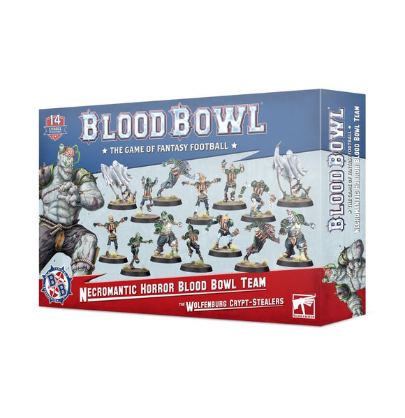 Blood Bowl: Necromantic Horror Team: The Wolfenburg Crypt-Stealers