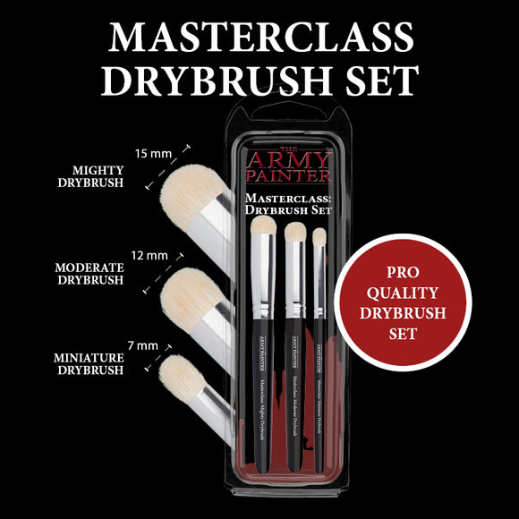 Army Painter - Masterclass Drybrush Set
