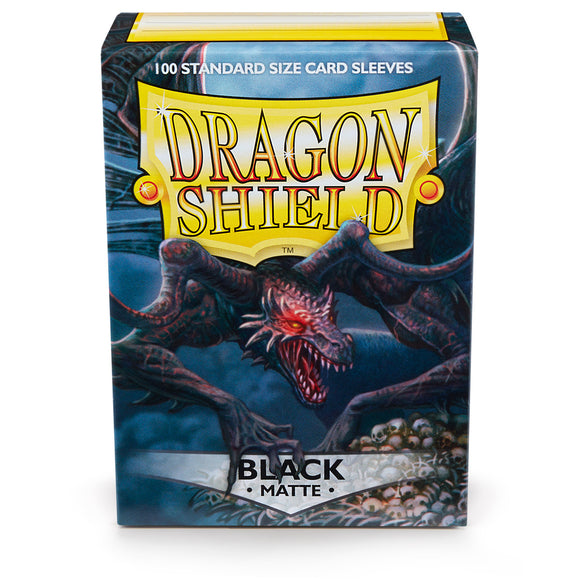 Dragon Shield Card Sleeves: Matte Black (100)