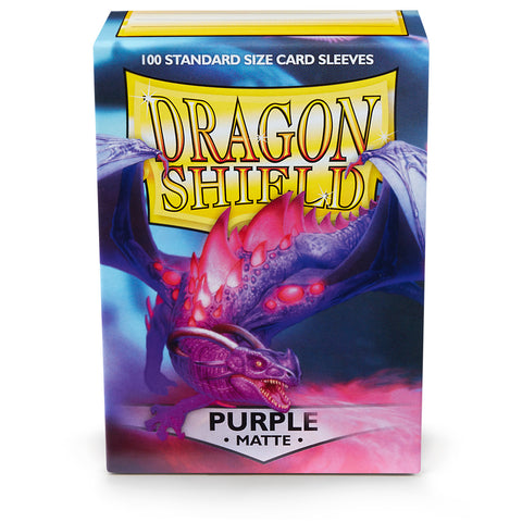 Dragon Shield Card Sleeves: Matte Purple (100)