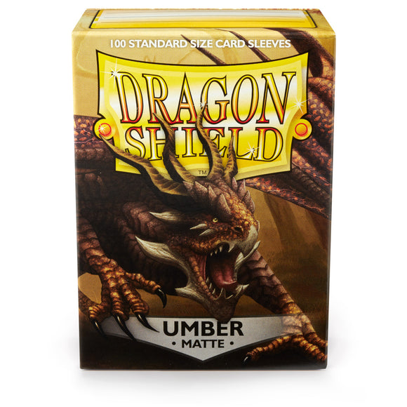 Dragon Shield Card Sleeves: Matte Umber (100)