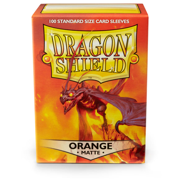 Dragon Shield Card Sleeves: Matte Orange (100)