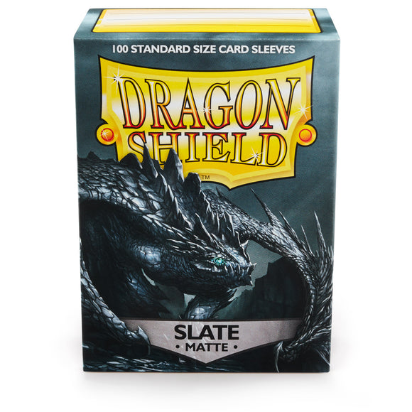 Dragon Shield Card Sleeves: Matte Slate (100)