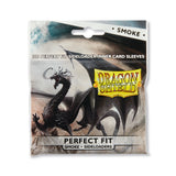 Dragon Shield Card Sleeves: Perfect Fit Side Loaders Smoke (100)