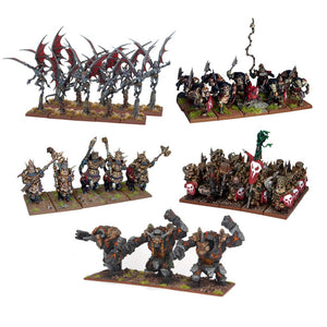 Kings of War: Abyssal Dwarf Army