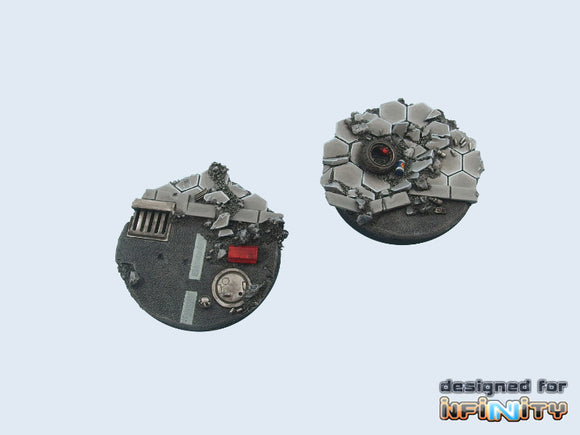 Micro Arts: Urban Fight Bases, Round 55mm (1)