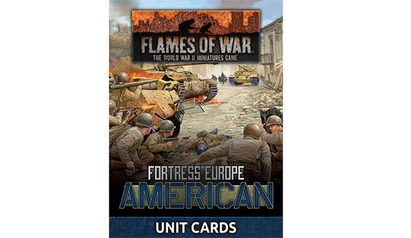 FoW: American Unit Cards (Late War x29 cards)