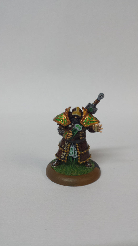 Circle Orboros: Baldur the Stonecleaver  (Painted)
