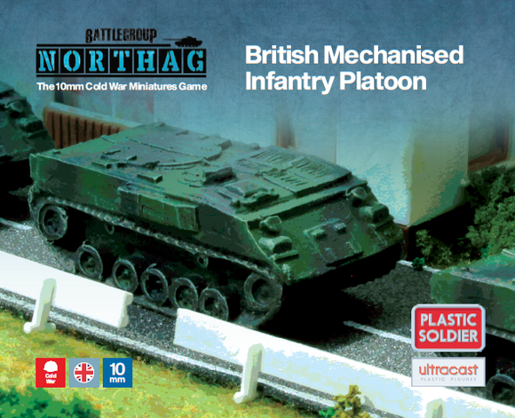 Plastic Soldier Company: Northag British Mechanised Infantry Platoon