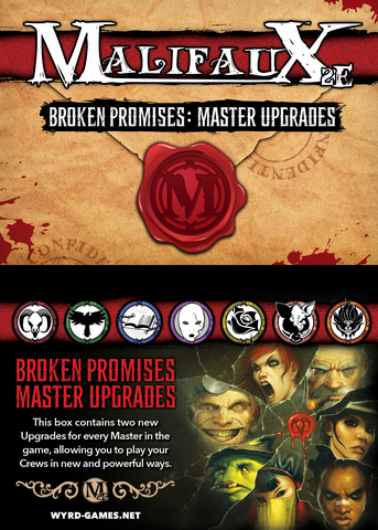 Malifaux Broken Promises Master Upgrades