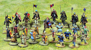 SAGA Crusader Starter Warband (Mixed - 4 points)