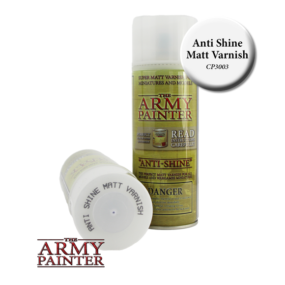 Army Painter Anti Shine Matte Varnish