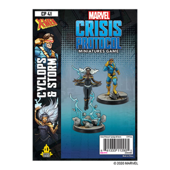 Marvel Crisis Protocol: Storm and Cyclops Pack