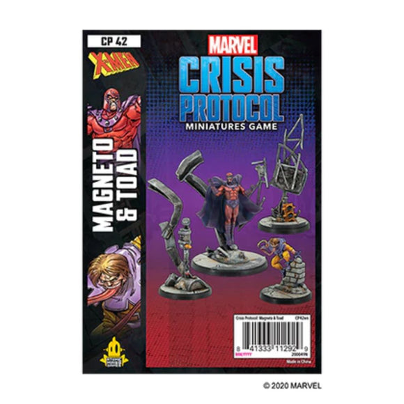 Marvel Crisis Protocol: Magneto and Toad Pack