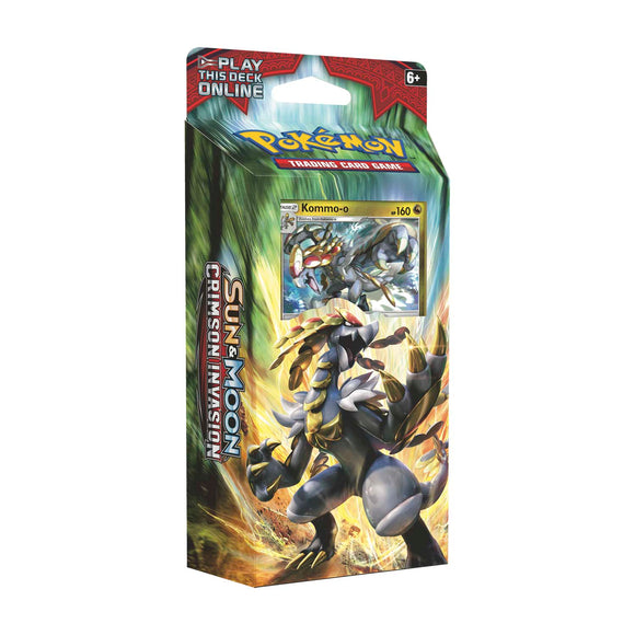 Pokémon Crimson Invasion: Theme Deck Clanging Thunder